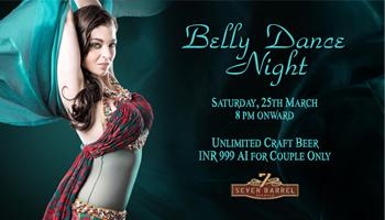 Belly Dance Night at 7 Barrel Brew Pub
