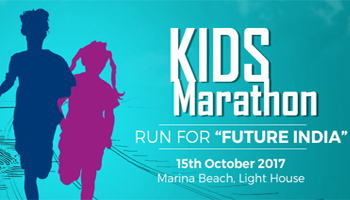 KIDS MARATHON - RUN FOR FUTURE INDIA
