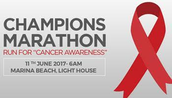 Champions Marathon - RUN FOR CANCER AWARENESS