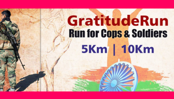 Gratitude Run - Run for Cops and Soldiers 2017