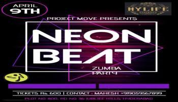 NEON Theme Zumba Party