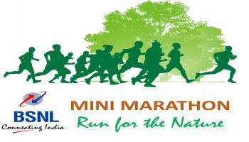 BSNL Mini Marathon - Run for the Nature