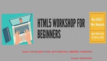 HTML5 Workshop For Beginners