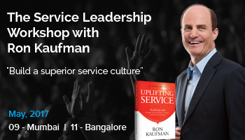 The Service Leadership Workshop with Ron Kaufman - Mumbai - May 9, 2017 08:00 AM