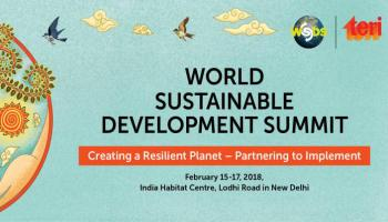 The World Sustainable Development Summit 2018