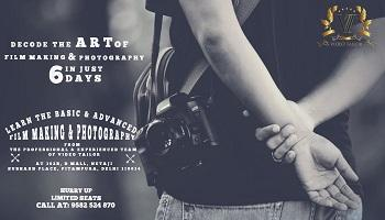 6 Days Film Making and Photography Workshop