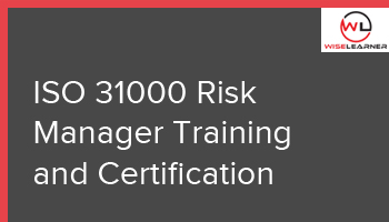 ISO 31000 Risk Manager Training and Certification
