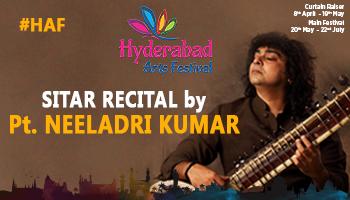 HAF - Sitar Recital by Pandit Neeladri Kumar