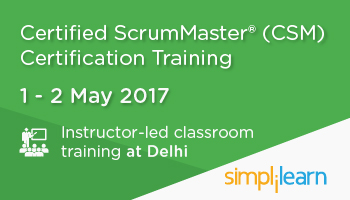 CSM Certification Training in Delhi| Classroom Training Program