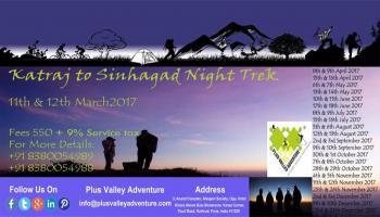 Katraj to Sinhagad Night Trek