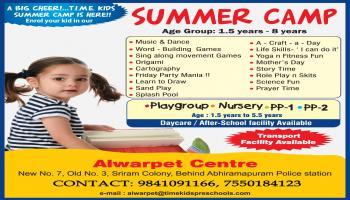 TIME KIDS ALWARPET SUMMER CAMP