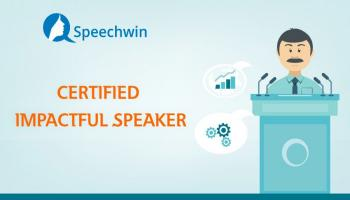 Certified Impactful Speaker