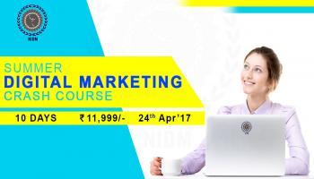 Summer Digital Marketing Crash Course by National Institute of Digital Marketing (NIDM) Bangalore