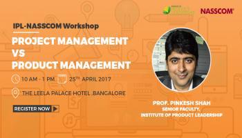 Workshop on Project Management Vs. Product Management