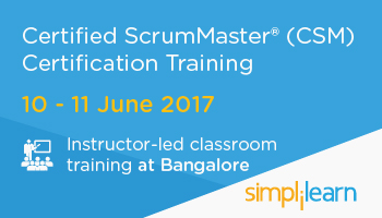 CSM Certification Training in Bangalore  Classroom Training Program