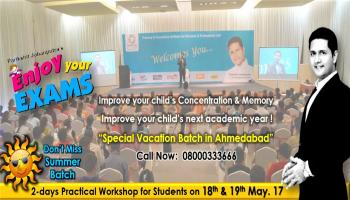 Enjoy Your Exams Workshop By Parikshit Jobanputra