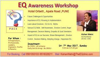 EQ Awareness Workshop -1 Day. ( Key Skills for managing  Success , Stress and Happiness)