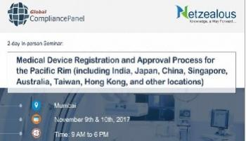 Medical Device Registration and Approval Process Conference 2017 in Mumbai