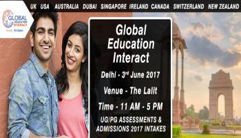 Global Education Fair 2017 in Delhi - Entry Free