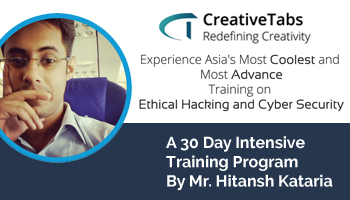 One Month Intensive Training And Internship Program On ETHICAL HACKING And CYBER SECURITY