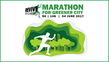 REVIVE Bengaluru - Marathon for Greener City