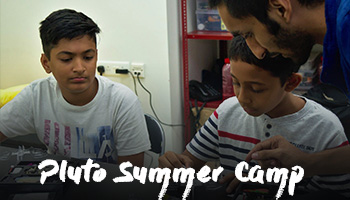 Pluto Summer Camp - Build your drone