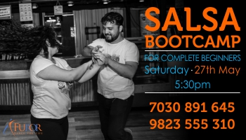SALSA Bootcamp for COMPLETE BEGINNERS