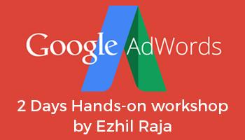 Google AdWords Workshop - 2 Days Hands-On Training