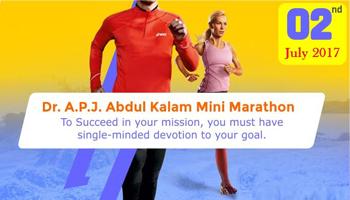 Dr. A.P.J. Abdul Kalam Mini Marathon, Hyderabad.