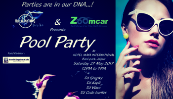 Pool Party Celebration by Hallucinations In Jaipur