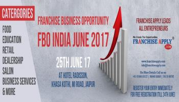 Franchise Business Opportunity (FBO INDIA-June 2017)