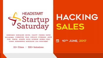 Hacking Sales - Startup Saturday June Edition