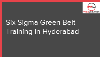 Six Sigma Green Belt Training in Hyderabad