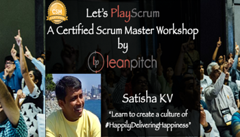 Certified Scrum Master Training in Bangalore on Sep 23-24