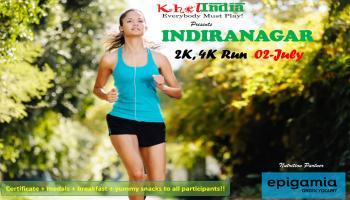 Indiranagar 2K,4K Run