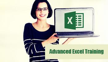Advanced Excel Training conducted by professionals for budding career on June 17th 18th 2017