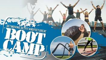 Fitness Boot Camp at Riverfront Park Ahmedabad