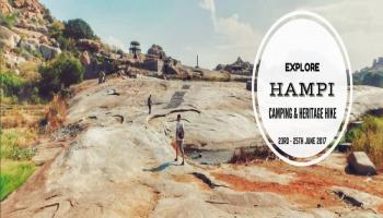 Explore Hampi  Camping and Heritage Hike