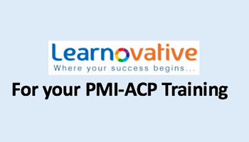 PMI ACP Certification Classroom Training Program Jun 2017 - Hyderabad by LEARNOVATIVE