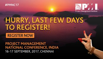 Project Management National Conference, India 2017 Event Website: www.pmi.org.in/conference