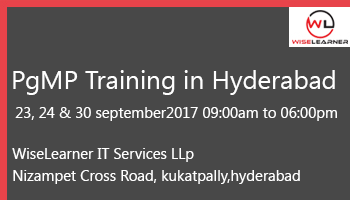 Best training for PgMP in Hyderabad