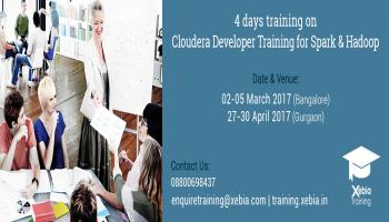 Cloudera Developer Training for Apache Spark and Hadoop | 29 Jun-02 July 2017 | Bangalore