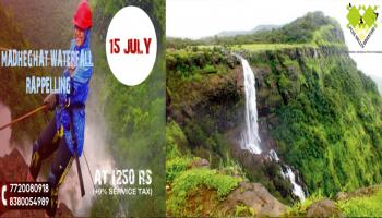 Madheghat Waterfall Rappelling