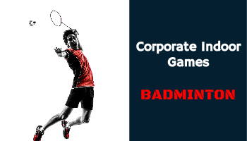 Badminton - Corporate Indoor Games