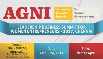 AGNI Leadership Business Summit for Women Entrepreneurs