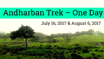 Andharban Trek One Day on 6th August by EDAS