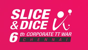 6th Slice And Dice Corporate Table Tennis War