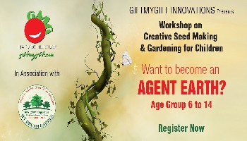 Workshop on Creative Seed Making and Gardening for Children