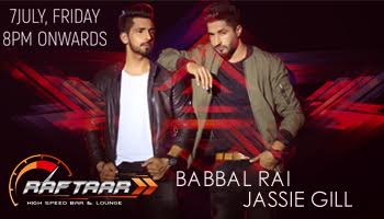 Raftaar 1st Anniversary with BABBAL RAI AND JASSIE GILL LIVE