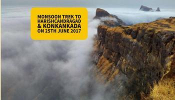 Monsoon Trek To Harishchandragad and KonkanKada with TreksAndHikes.com